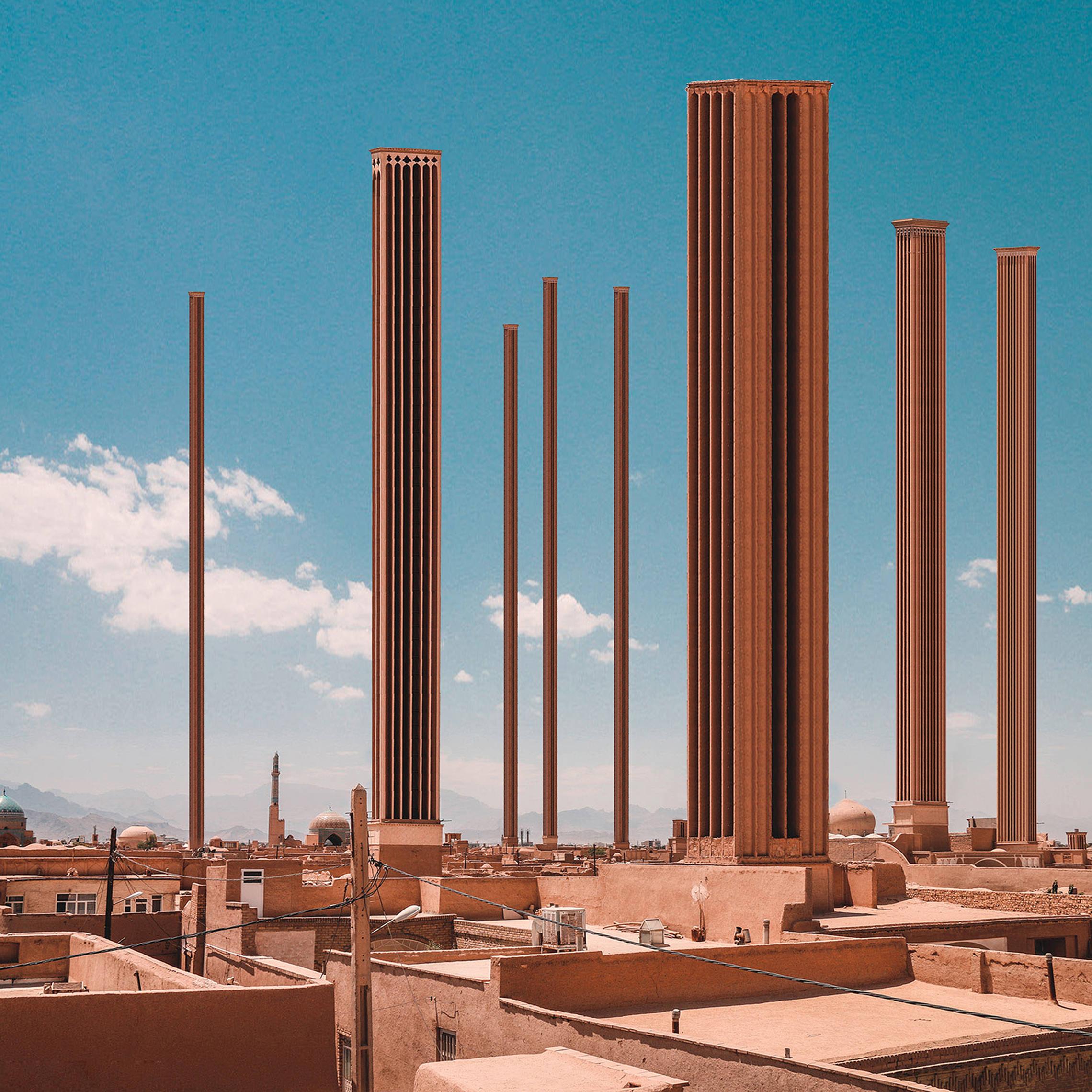 تجسم آسمانخراش ها در روستاهای ایران